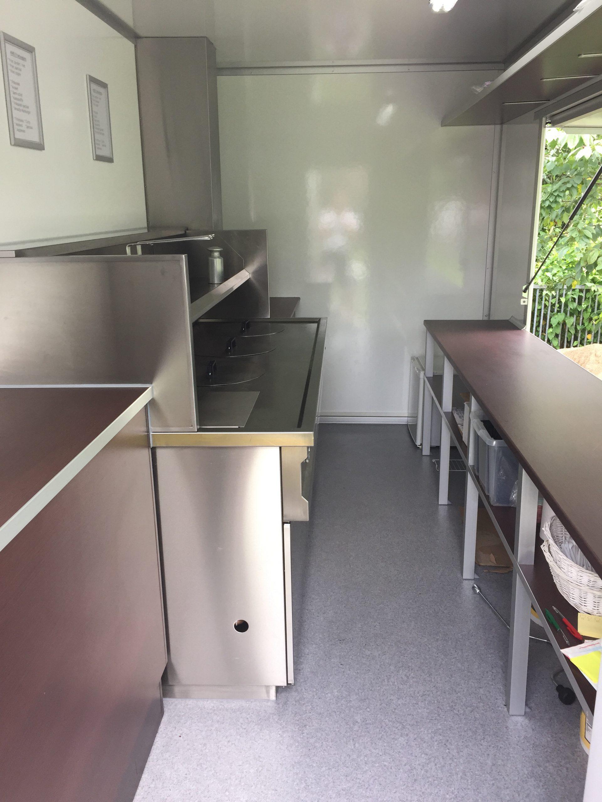 Frietwagen onbeperkt, zonder personeel